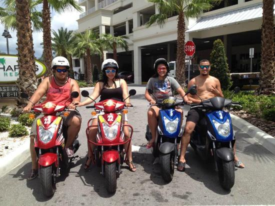 scooter picture of clearwater beach scooter and bike rentals rh tripadvisor ca
