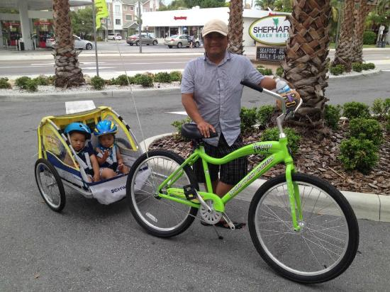 beach picture of clearwater beach scooter and bike rentals rh tripadvisor com