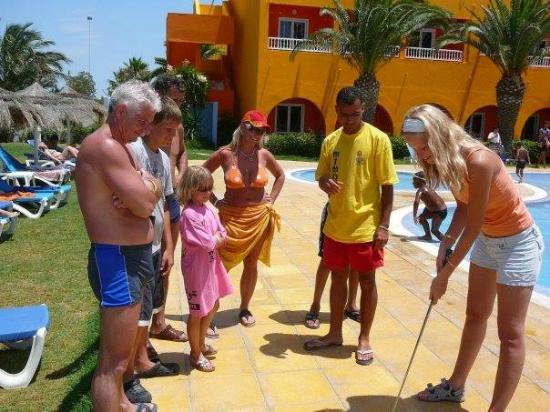 Sun Holiday Beach Club : mini golf