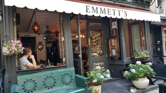Photo of Italian Restaurant Emmett's at 50 Macdougal St., NYC, NY 20012, United States