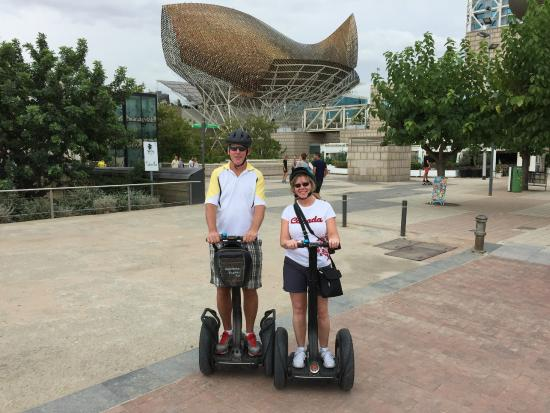 Barcelona Segway Tour: one of many cool sights