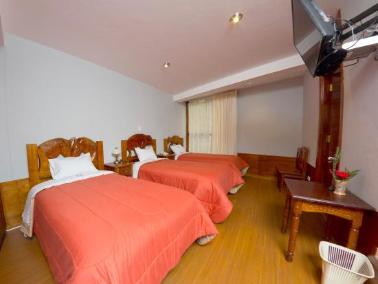 Inti Nan Hotel : Habitacion Triple