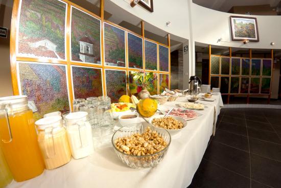 Inti Nan Hotel : Buffet