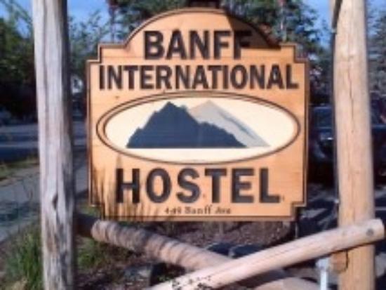 Banff International Hostel: As is