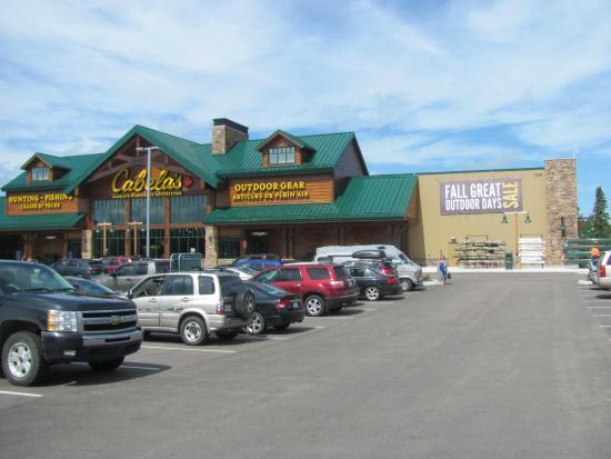Cabelas Moncton Nb B Parking Lot