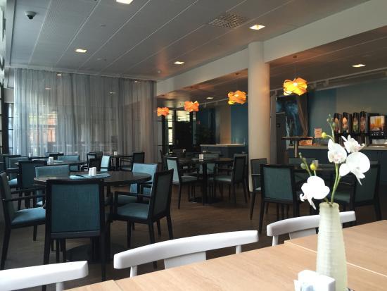 Scandic Haugesund: Breakfast room