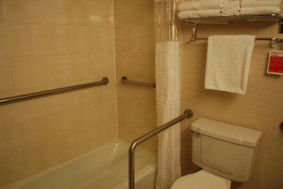 Ramada Triangle/Quantico: Accessible Bathroom