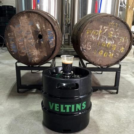 Pirate Republic Brewing: Barrel-aging and kegging