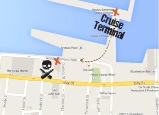 Pirate Republic Brewing: Conveniently located!