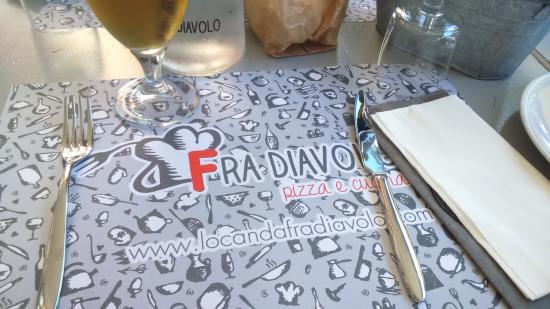tavolo del dehor - Foto di Locanda Fra Diavolo, Diano ...