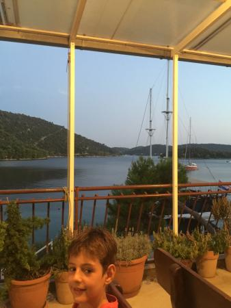 Pasadur, Croatia: Roko, and View from terrace