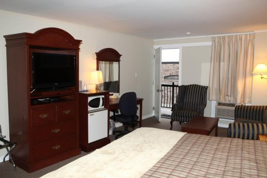 Saxony Motel & Restaurant: New Flat Screen TVs and other amenities