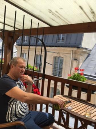 Grand Hotel Dechampaigne: Балкон