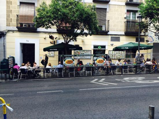 Terraza De Javier Martín Croquetas Madrid Picture Of