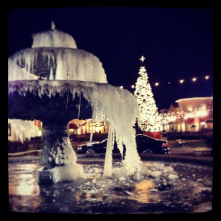Monaco Pictures : Christmas time 2013, frozen winter-wonderland outside the Monaco theater!