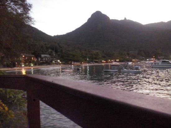 Che Lagarto Hostel Ilha Grande: Desde el deck