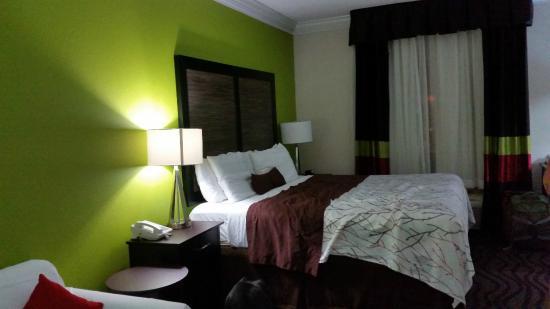 La Quinta Inn Calhoun: New bed but older flat pillows