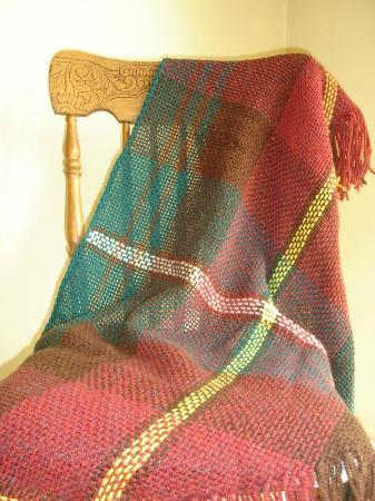 Mayfield, Canada: PEI tartan shawl