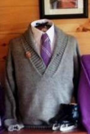 Mayfield, Kanada: Merino wool sweater