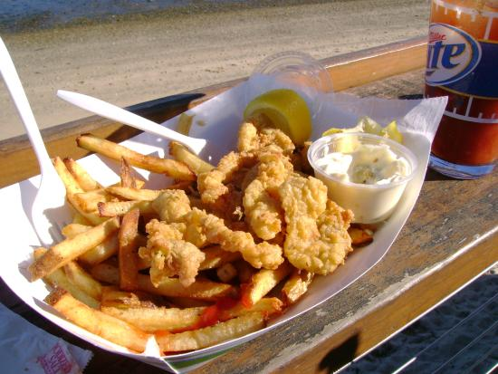 Provincetown, MA: Some of the BEST Fried Clams in P'town, Mass!