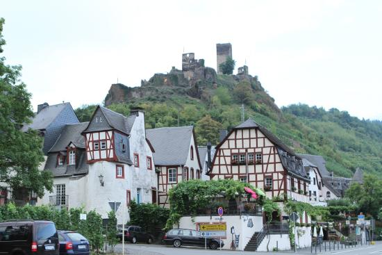 the plete village with ruined castle Picture of Hotel
