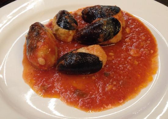 Trattoria Da Mino: Stuffed Mussels