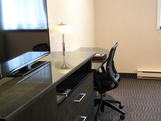 Bureau de travail chambres affaires photo de hotel des eskers