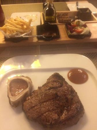Food - THE TOWN Steakhouse: 1