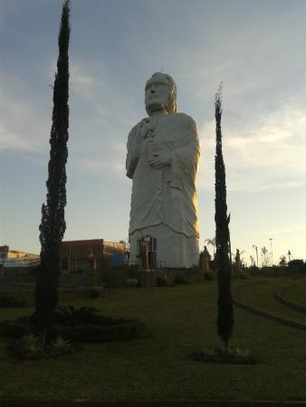 Sao Pedro do Butia, RS: Monumento a São Pedro