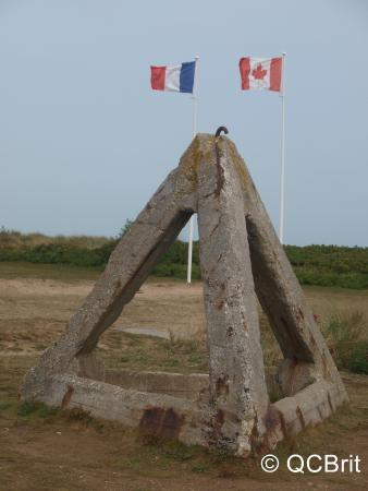 Juno Beach Centre: Tank Trap