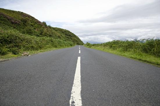 Great Cumbrae, UK: The roads are wonderfully quiet