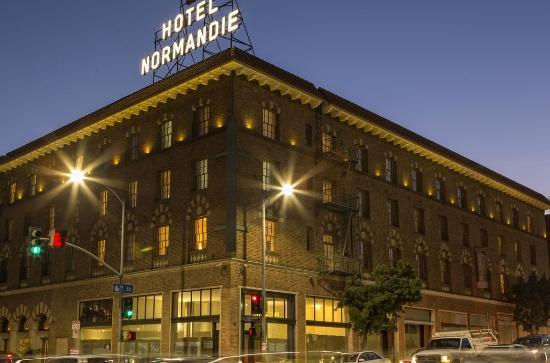 Foto De Hotel Normandie, Los Ángeles: Exterior Cropped