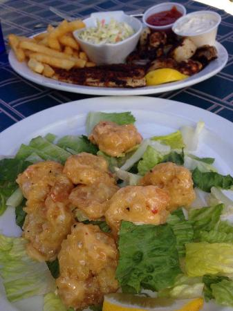 Anglers Beach Market Grill: YUM!