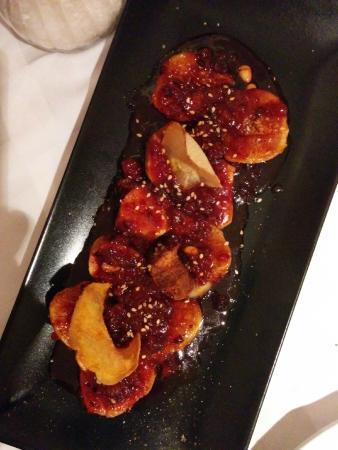 Restaurant Siller: Higos con sobrasada