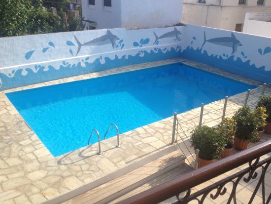 amalia hotel piscina desde la terraza de la habitacin