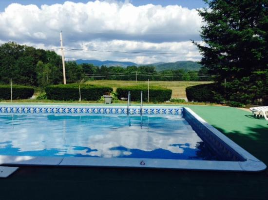 The Shamrock Motel: The pool is perfectly fine and the views are great.