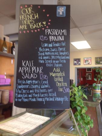 Hush-Harbor Artisan Bakery: More than a bakery! Yummy sandwiches and friendly service.