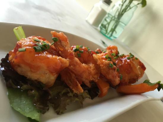 Delhi Street Bistro : crispy shrimp