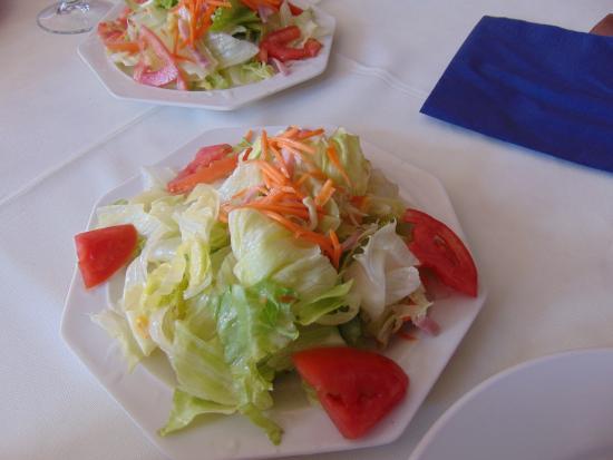 Restaurante Asiatico: Ensalada china del menú especial