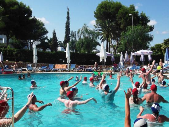 Gavimar La Mirada Club Resort : Hard work Zumba but made fun xxx