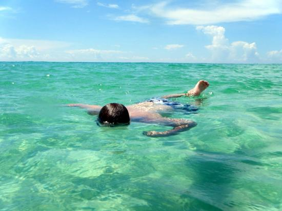 Holiday Surf & Racquet Club: great for snorkling