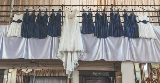 The Old Country Banquets & Deli: hung off bridal suite