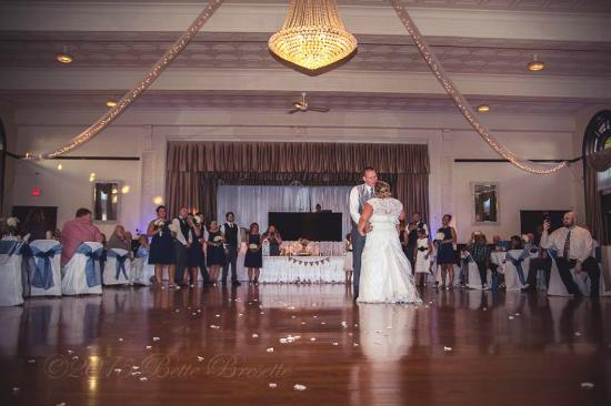 The Old Country Banquets & Deli: first dance