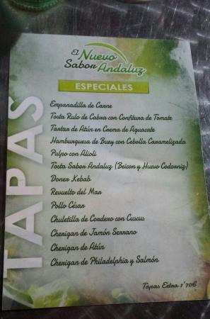 Cafeteria & Cerveceria Nuevo Sabor Andaluz - Restaurante
