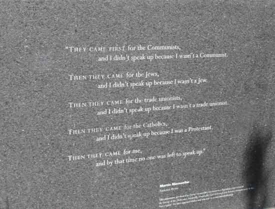 Boston Quotes Mesmerizing Quotes Picture Of New England Holocaust Memorial Boston TripAdvisor