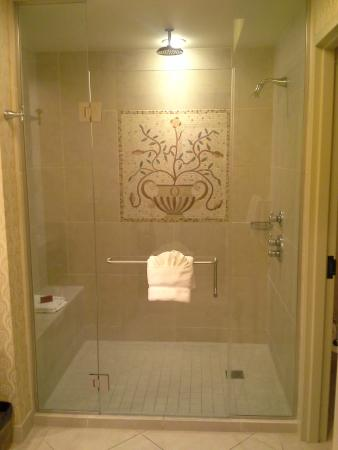 Riverside, MO: Argosy guest room shower