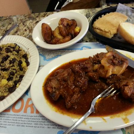 Capdevila At La Teresita: Rabo encendido or ox tail if you're culturally challenged.