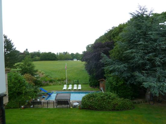 Whitethorn Farm Bed & Breakfast: View from our top floor room