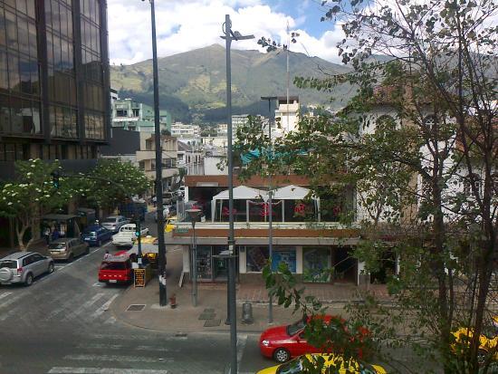 Windsor Hotel : vista desde el segundo piso