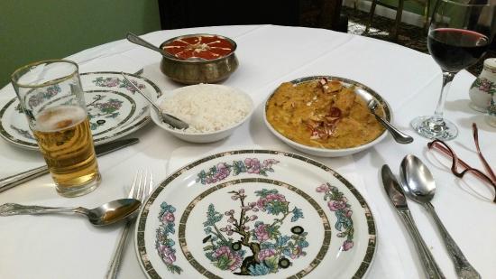 Rajdutt: Radjutt Restaurant, Uckfield